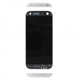 Complete Screen Assembly WHITE (LCD + touchscreen + Frame) - HTC One Mini 2