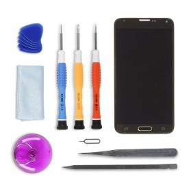 Screen DIY Repair Kit (gold) - Galaxy S5