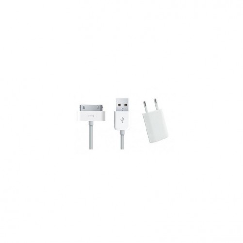 Pack chargeur + câble iPhone 3G/3GS/4/4S