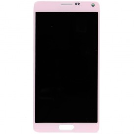 LCD Screen + Touchscreen PINK - Galaxy Note 4