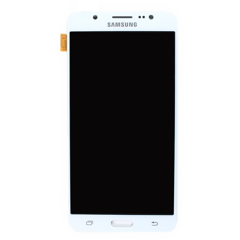 Sosav ecran lcd tactile blanc officiel pour samsung for Photo ecran samsung j7