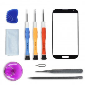 kit de réparation Vitre tactile Black Edition- Galaxy S4