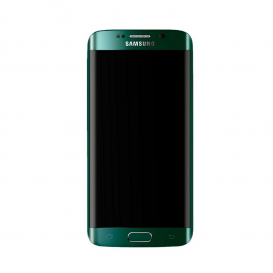 Ecran Complet VERT (Officiel) - Galaxy S6 Edge