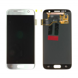 Complete screen SILVER (Official) - Galaxy S7