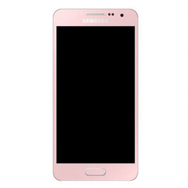 Ecran complet Rose (Officiel) - Galaxy A3 (2017)
