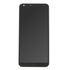 Complete Screen Assembly BLACK (LCD + Touchscreen) (Official) - LG G6