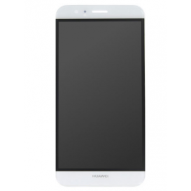 Ecran complet BLANC (LCD + Tactile) (Officiel) - Huawei G8 / G8X