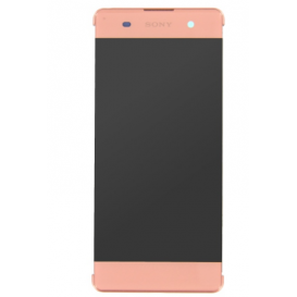 Complete Screen Assembly PINK (Official) - Xperia XA Dual