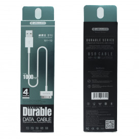 Cable iPhone 4 / iPad 2 (30 Broches) (Charge et Data)
