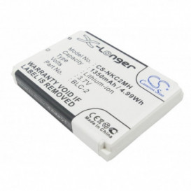 Batterie Nokia compatible 1220, 1221, 1260, 1261, 2260, 3310, 3315, 3330, 3350, 3360, 3385, 3390, 3395, 3410, 3510, 3510i, 35