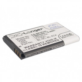 Batterie Nokia compatible 1100, 1101, 1110, 1110i, 1112, 1200, 1208, 1255, 1280, 1315, 1600, 1650, 2112, 2118, 2255, 2270, 22