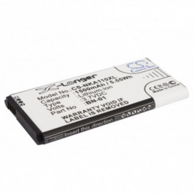 Batterie Nokia compatible A110, Normandy, RM-1053, RM-980, X, X Dual SIM, X Plus, X+