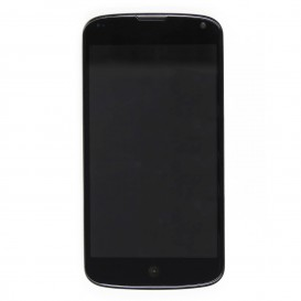 LCD Screen + Touchscreen + Frame BLACK - Nexus 4